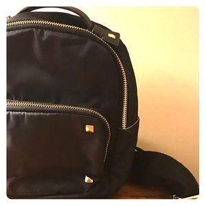 Madden Girl mini black backpack